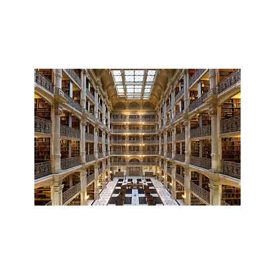 The George Peabody Library Johns Hopkins University