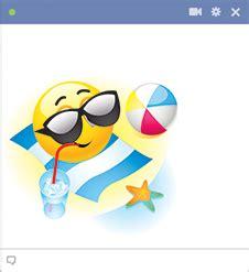 summer vacation emoticon emoticon smiley  smileys