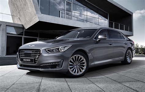 2016 Genesis G90 revealed; Hyundai's new luxury flagship ...