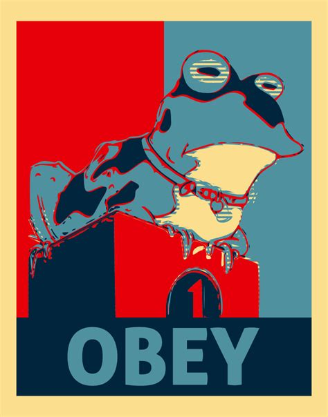 Obey Meme - image 2374 hypnotoad know your meme