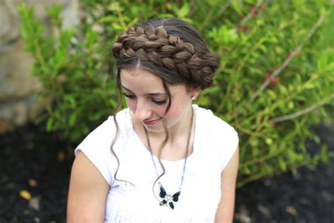 cutegirls hair styles milkmaid braid summer hairstyles