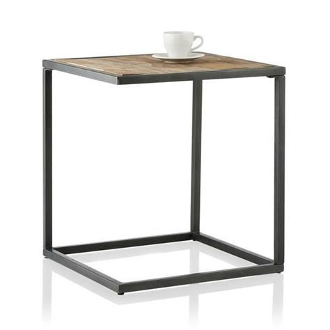 table bout de canape table basse bout de canapé nasik 45 x 45 cm youniq achat