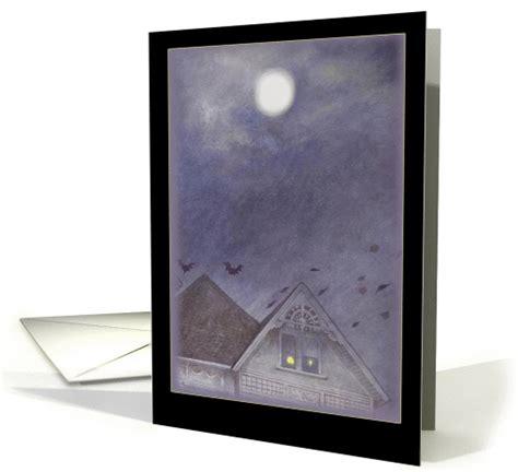 Haunted House Full Moon Bootiful Halloween Card 868092