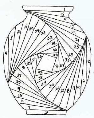 printable iris folding patterns