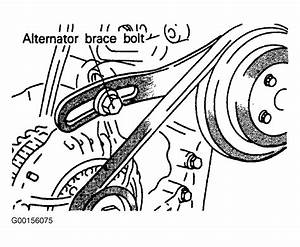 1990 Mitsubishi Eclipse Serpentine Belt Routing And Timing