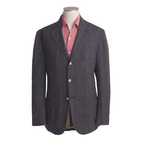 bills khakis madras sport coat  men