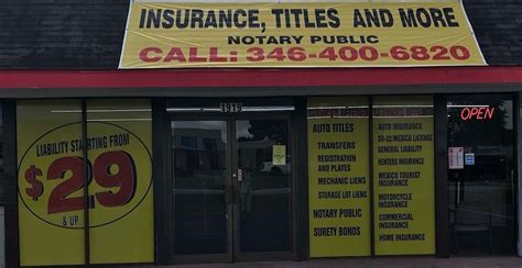 As independent agents, we don't work for any one insurance company. INSURANCE, TITLES AND MORE, 1919 Spring Cypress Rd, Spring, TX 77388, USA