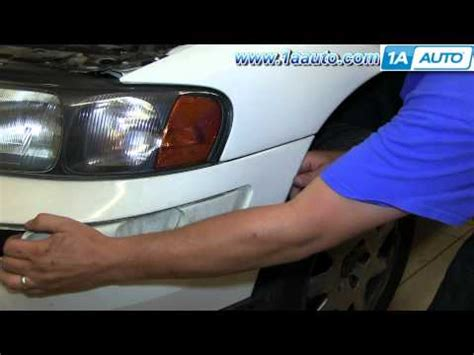 how to install replace change headlight and bulb 2001 074