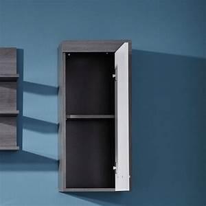 Meuble Mural Salle De Bain : meuble rangement salle de bain pas cher ~ Teatrodelosmanantiales.com Idées de Décoration