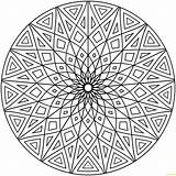 Geometric Hard Pages Designs Coloring Printable Print sketch template