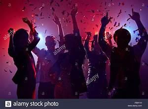 Party people having fun in nightclub Stock Photo, Royalty ...
