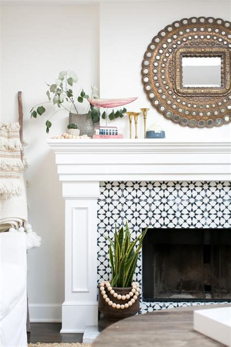 trendy cement tile hgtv