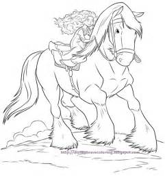 Free Brave Coloring Pages