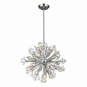 Elk Lighting 11750/15 Starburst 15-Light Small Chandelier