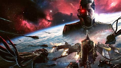 wallpaper battlefleet gothic armada  artwork  games