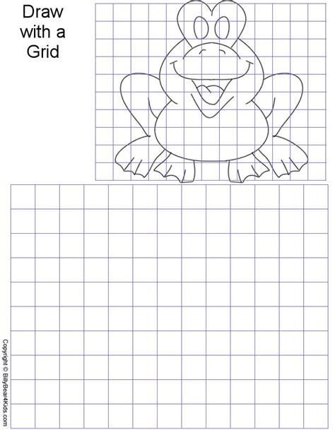 adl grid drawing images  pinterest art lessons