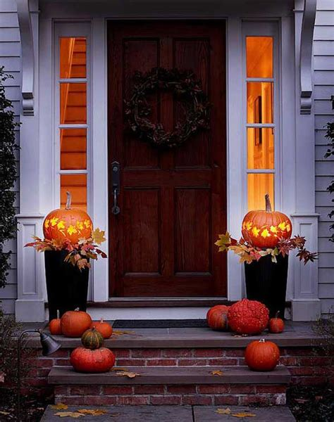 top   cool ideas  add fall curb appeal  home