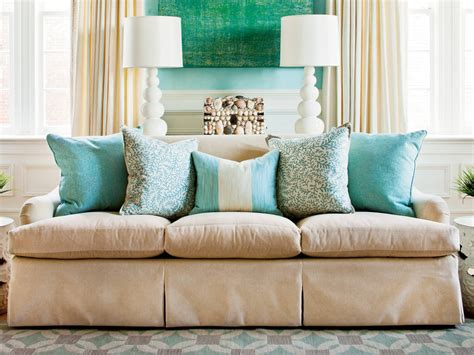 Sofa Pillows Shopping by How To Arrange Sofa Pillows Southern Living