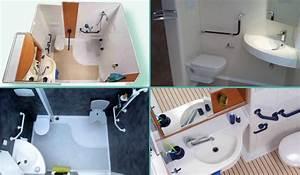 Douchette Salle De Bain : salles de bain pr fabriqu es la salle d 39 eau int gr e 3 en 1 ~ Edinachiropracticcenter.com Idées de Décoration