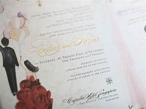 raised gold lettering on these invitations daniel and With raised lettering invitations
