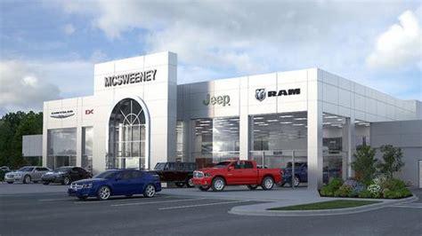 mcsweeney holdings  opened mcsweeney chrysler dodge