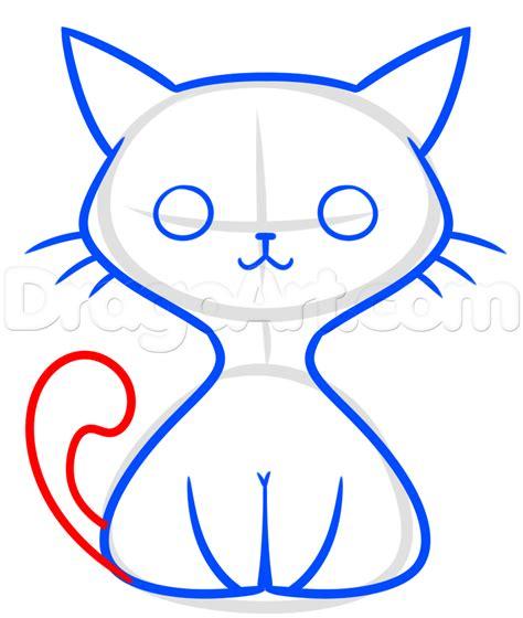 kawaii black cat drawing lesson step  step halloween