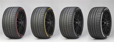 Pirelli Presents Colored Tires & Sensor Tech In Geneva