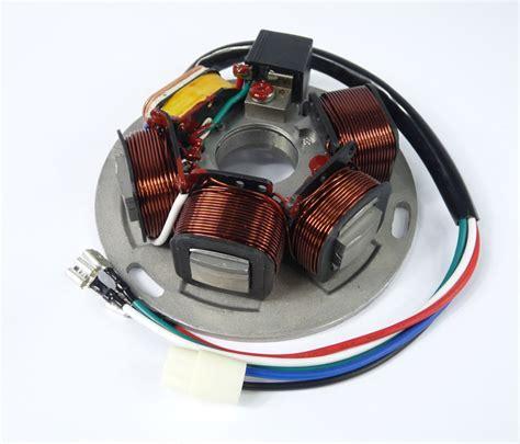 Vespa Electronic Stator Range Wires Bgm Mbgm