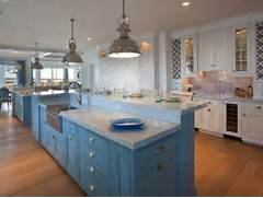 White Coastal Kitchen Pictures By The Serene Seaside  Kitchen Ideas Amp D