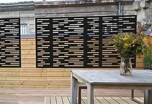 Brise Vue Design : brise vue terrasse palissadesign brise vue de terrasse ~ Farleysfitness.com Idées de Décoration