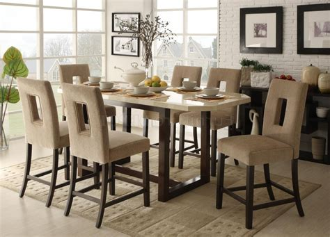 dining table with stools pub dining table dining room tables height of a dining
