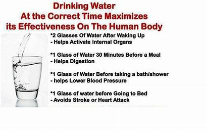 Water Drink Benefits Health Times Maximum Right