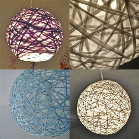 string pendant l diy woven string pendant l how to make a l lshade