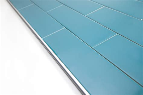 Schluter Tile Trim Pieces by Using Schluter Trim Profiles With Subway Tile