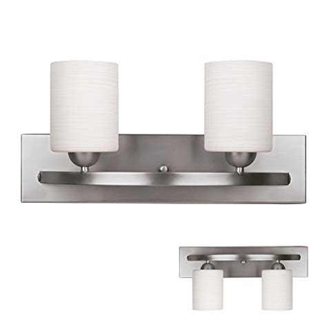 Bathroom Vanity Light Fixtures Brushed Nickel by Brushed Nickel 2 Globe Vanity Bath Light Bar Interior