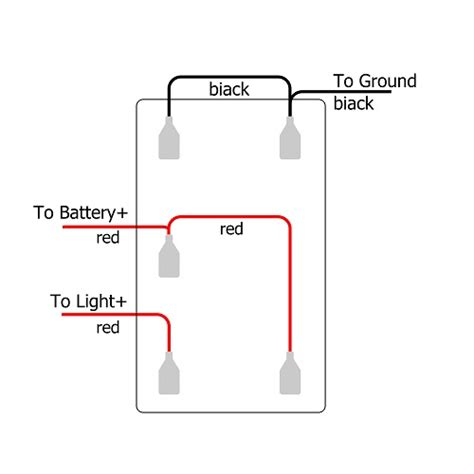 Rocker Switch For Off Road Led Lights