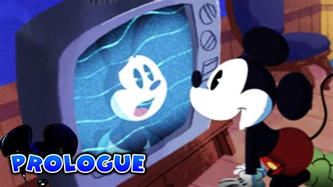 Epic Mickey The Power Of Illusion Prologue Youtube
