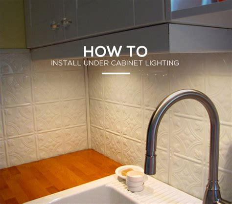 Kitchen Guide How To Install Under Cabinet Lighting In 6
