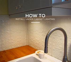 Kitchen Guide  How To Install Under Cabinet Lighting In 6 Simple Steps