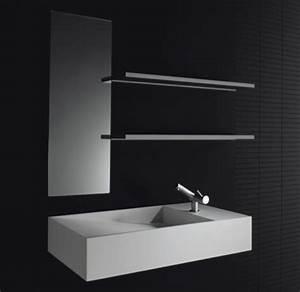 Vasque En Corian : meubles de salle de bain en corian cosmic ~ Premium-room.com Idées de Décoration