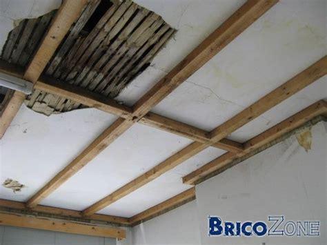 quelle type de structure pour un faux plafond