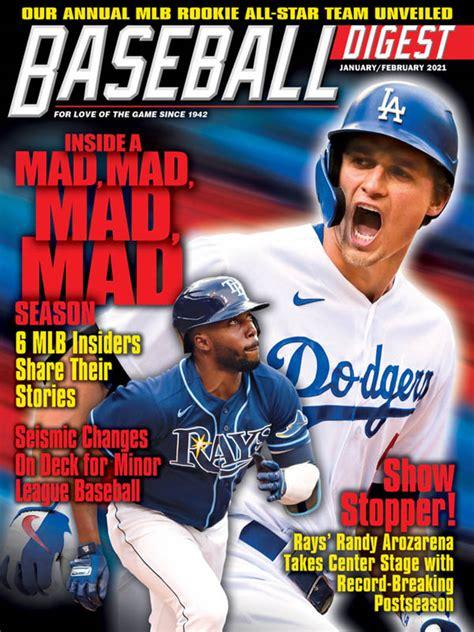 baseball digest     magazines