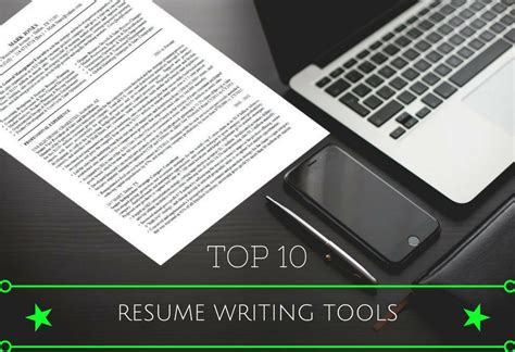 top 10 resume writing tools for successful employment