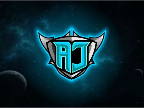 aj   initials logo letter logo design logo dragon