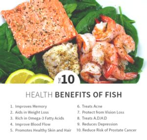 top  health benefits  eating fish