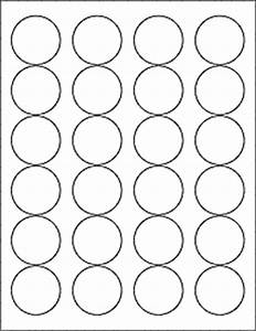 167quot circle labels ol325 With circle label sheets