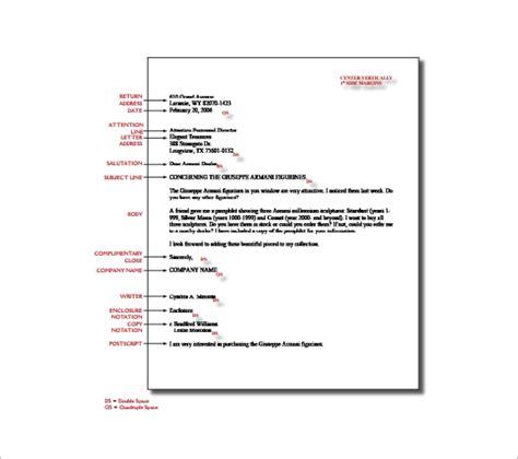 proper letter formats  sample  format