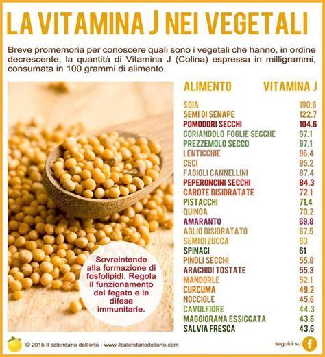 alimenti ricchi di tirosina la vitamina j colina nei vegetali fonti vegetali