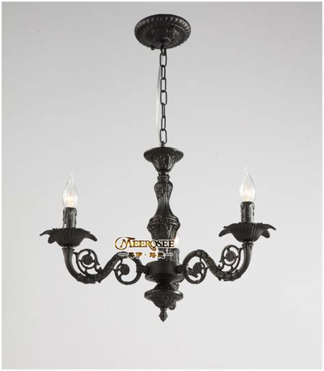 wrought iron black chandelier light small black lighting
