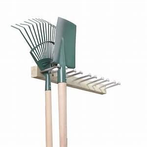 Outil Pour Fendre Le Bois : porte outils jardin bois rangement outils ~ Dailycaller-alerts.com Idées de Décoration